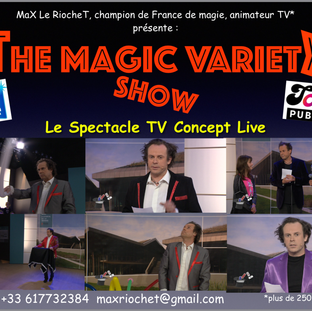 magic variety show divertissement animateur spectacle tv 85 49 17 44 79