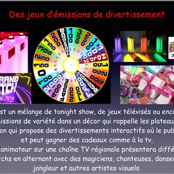 animateur présenatateur TV animation entrerprise divertir en vendée 85 et pays de loire, 44, 17, 49 cholet, Angers, Nantes