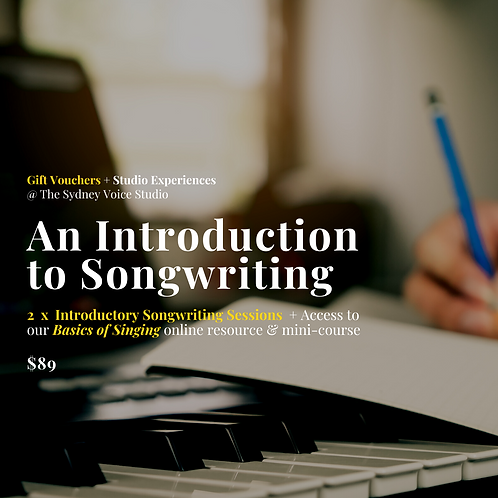 An Introduction to Songwriting