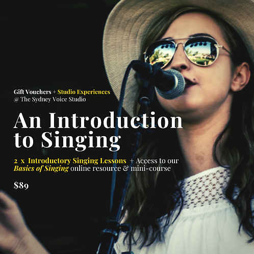 An Introduction to Singing