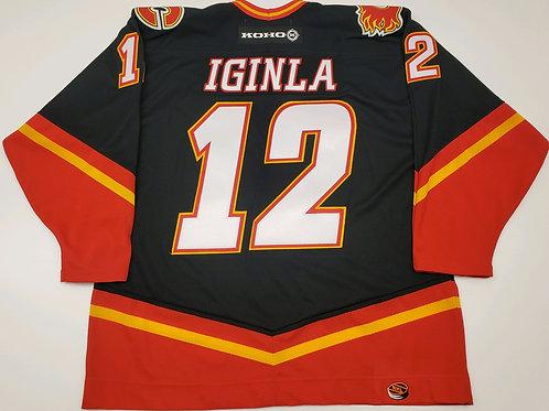 Jarome Iginla Calgary Flames Koho Horsehead Jersey