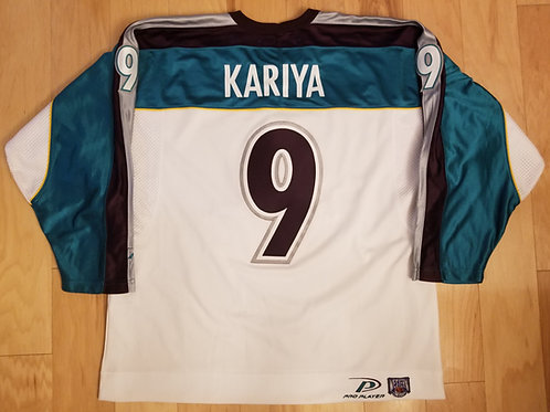 Paul Kariya Pro Player Anaheim Mighty Ducks Jersey