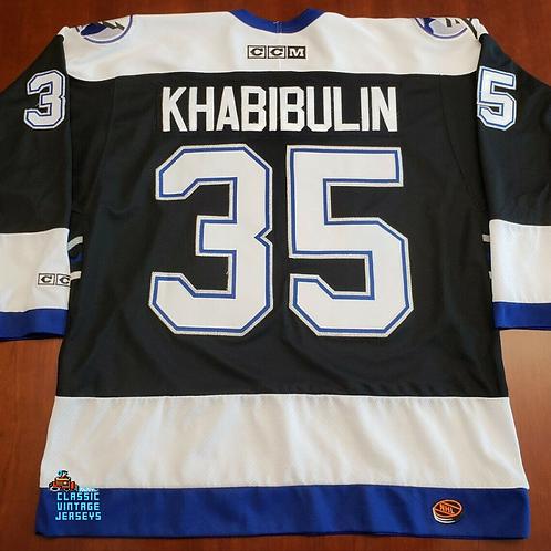 Nikolai Khabibulin CCM Tampa Bay Lightning Jersey