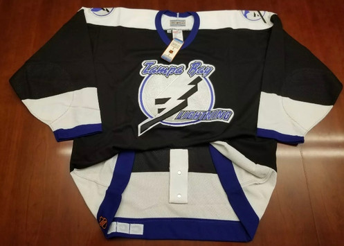 release date 0a455 e53fe Tampa Bay Lightning CCM Authentic Jersey