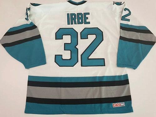 Artūrs Irbe San Jose Sharks CCM Jersey