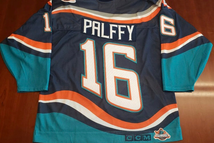outlet store 626ef ad279 Ziggy Palffy CCM Fisherman NY Islanders Jersey | classicvintagejersey