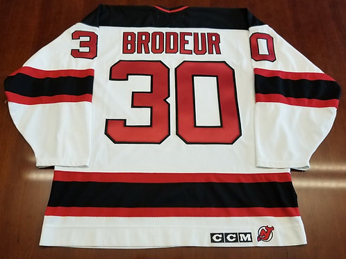 Marty Brodeur CCM New Jersey Devils Jersey