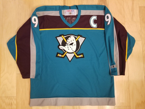 a06b4f20b Player: Paul Kariya. Team: Mighty Ducks. Brand: CCM. Condition: Used  Excellent