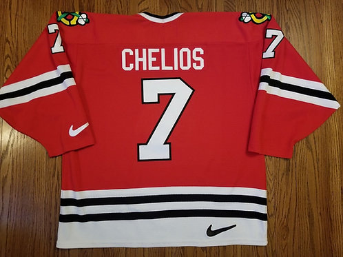 Chris Chelios Nike Chicago Blackhawks Jersey