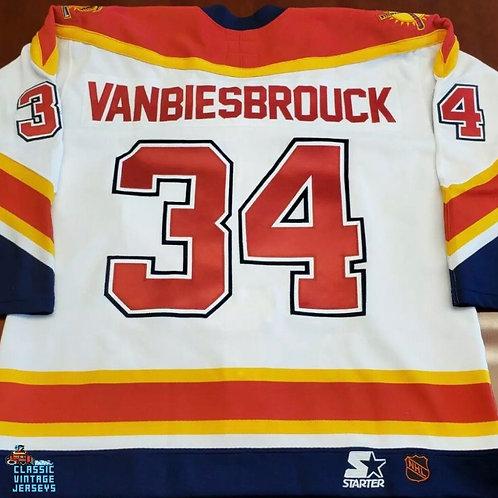John Vanbiesbrouck Starter Florida Panthers Jersey