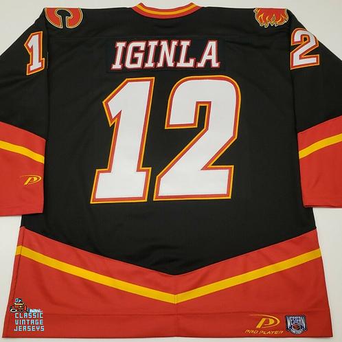 Jarome Iginla Calgary Flames Pro Player Jersey