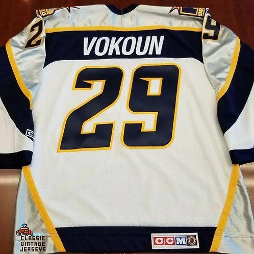 Tomas Vokoun CCM Nashville Predators Jersey