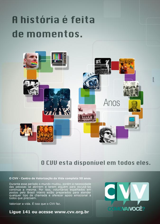 Campanha   50 Anos - CVV