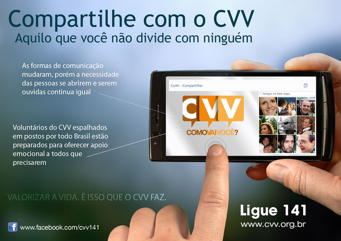 Campanha   Compartilhe com o CVV - CVV