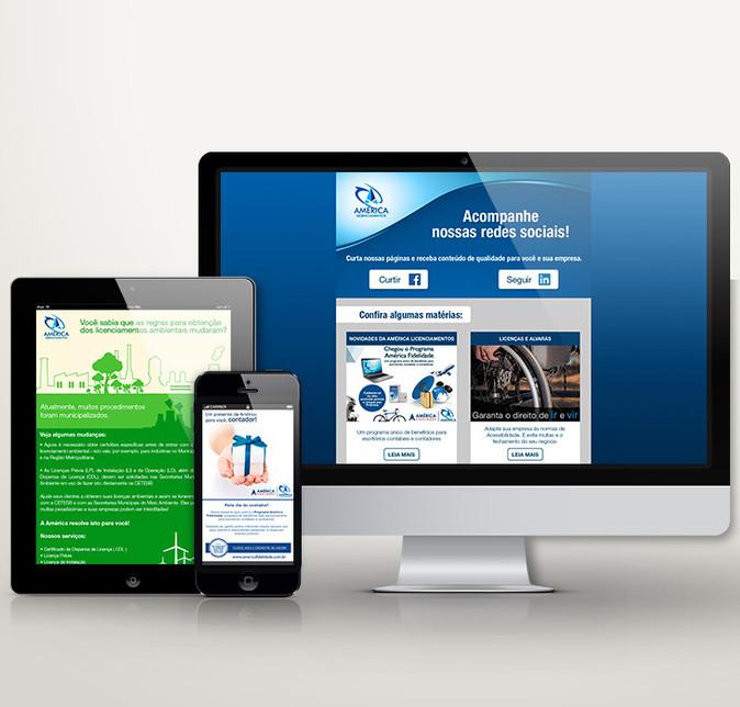 E-mail Marketing | América Licenciamentos