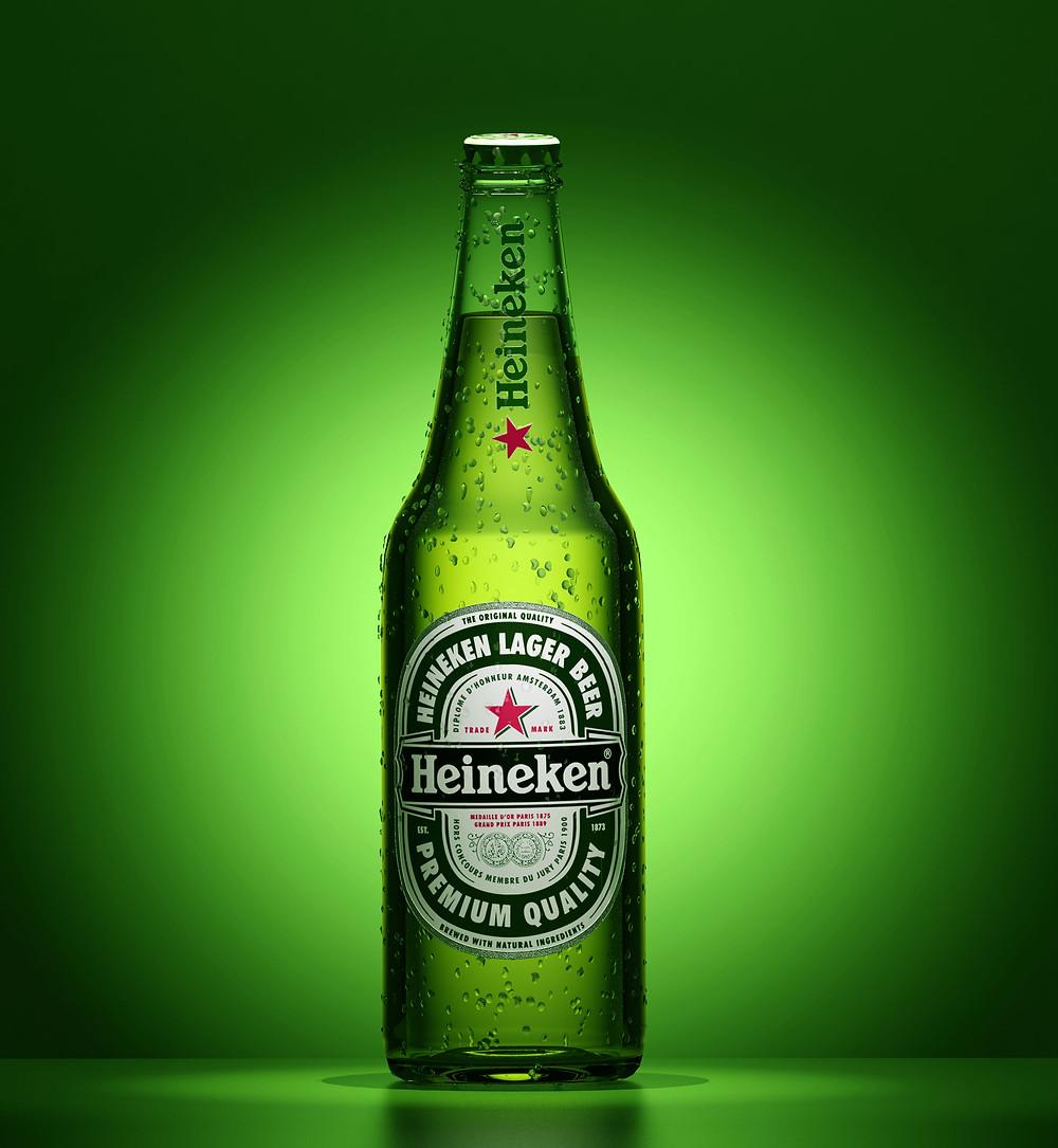 Embalagem Heineken