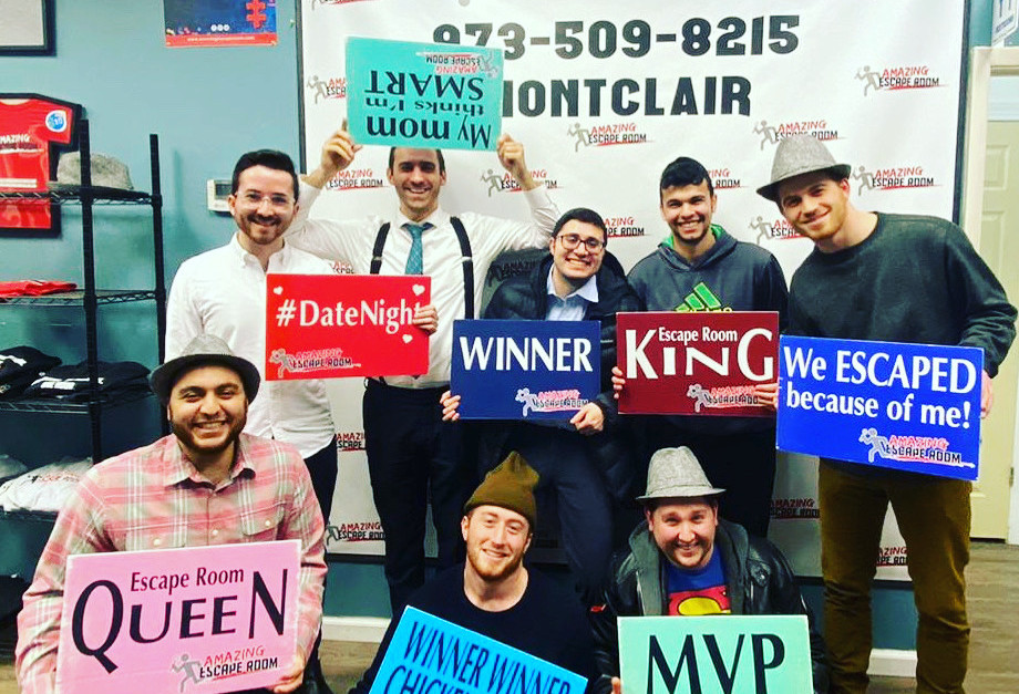Guys Night Out: Escape Room