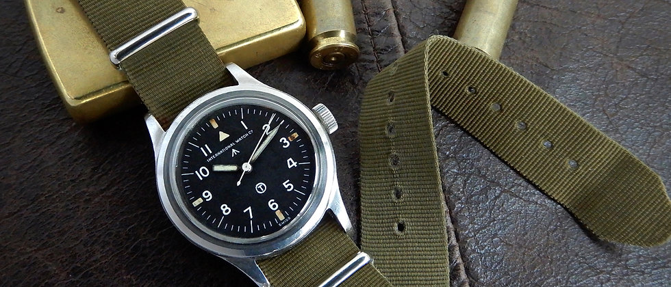 IWC Mark XI Cal 89 Original British Military MoD Issued Watch 6b/346 1951 RAF