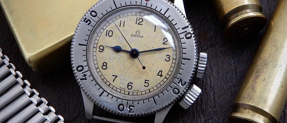 "OMEGA ""Weems"" RAF Pilots Watch Ref. CK2129 Cal. 23.4SC On Original Bonklip Strap"