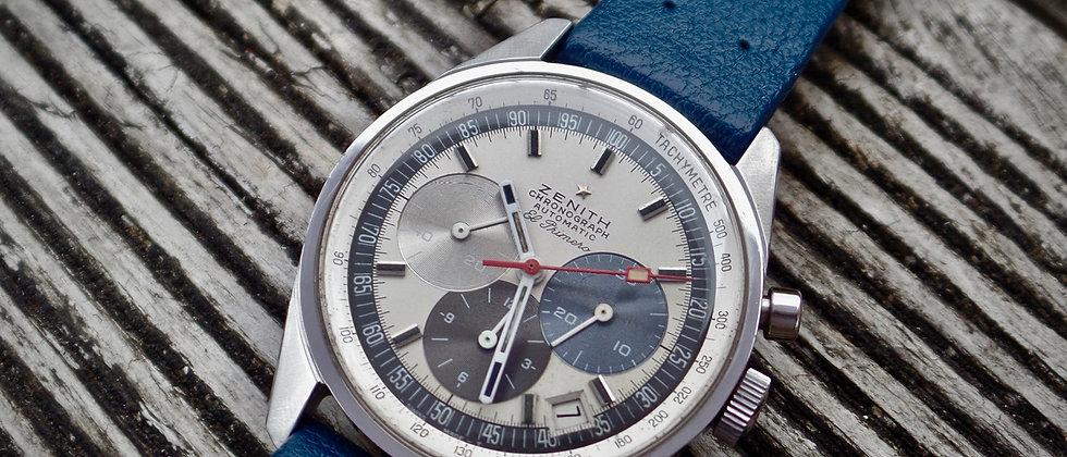 ZENITH el Primero A386 Vintgae 1969 D Case Cal 3019 Automatic Chronograph