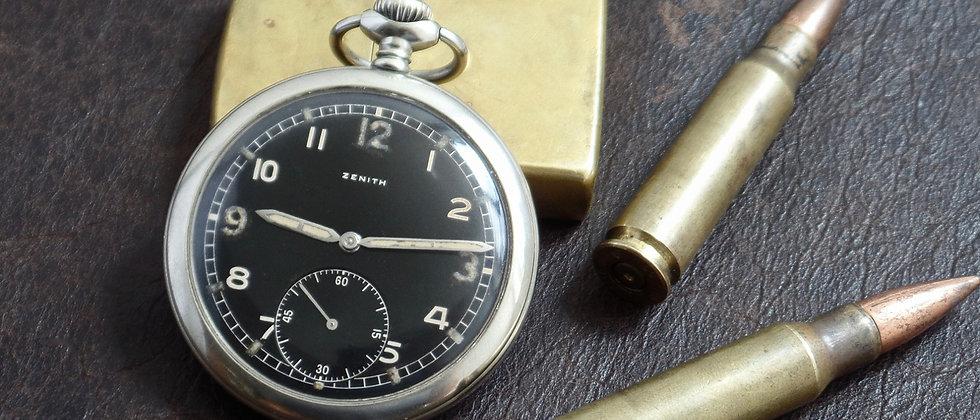 ZENITH Dienstuhr Heer German WWII Nazi Military Vintgae 1944 Kriegsmarine Watch