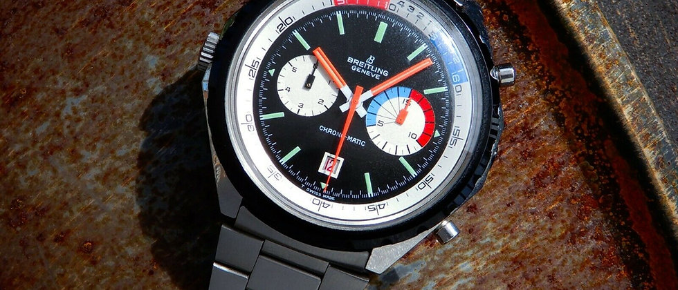 Breitling YACHTING 7651 Chronomatic Vintage Pilots Chronograph Cal 11 Navitimer