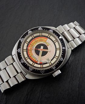 Hamilton 1960's Vintage Automatic Ca 64 ETA 2452 Rare Divers Watch