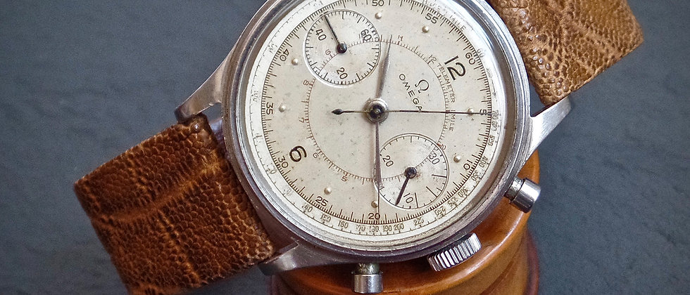 Omega GRAIL Watch 2077-1 Cal. 33.3CHRO 1939