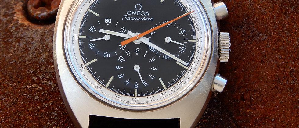 Omega Pre Moon Vintage 1966 321 Seamaster Ref 145.006 Black Dial Speedmaster