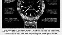Shop & Blog   Vintage 1963 (M3) Bulova Accutron  ASTRONAUT   15 Jewel Tuning Fork Cal. 214HN.