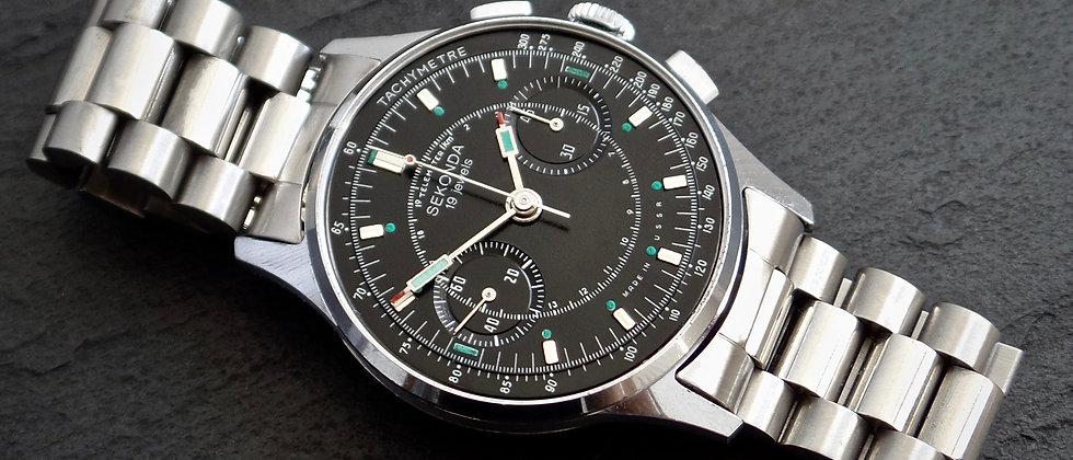 Poljot Strela Column Wheel Chronograph Cal. 3017 Russian Speedmaster Space Watch