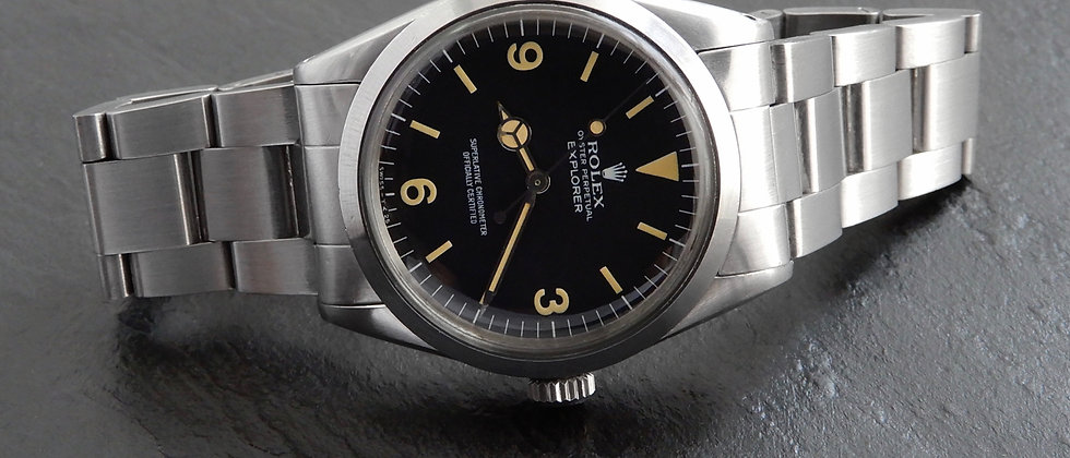 Rolex Explorer 1016 1974 Matte Dial 36mm TRITIUM All Original Hacking Cal. 1570