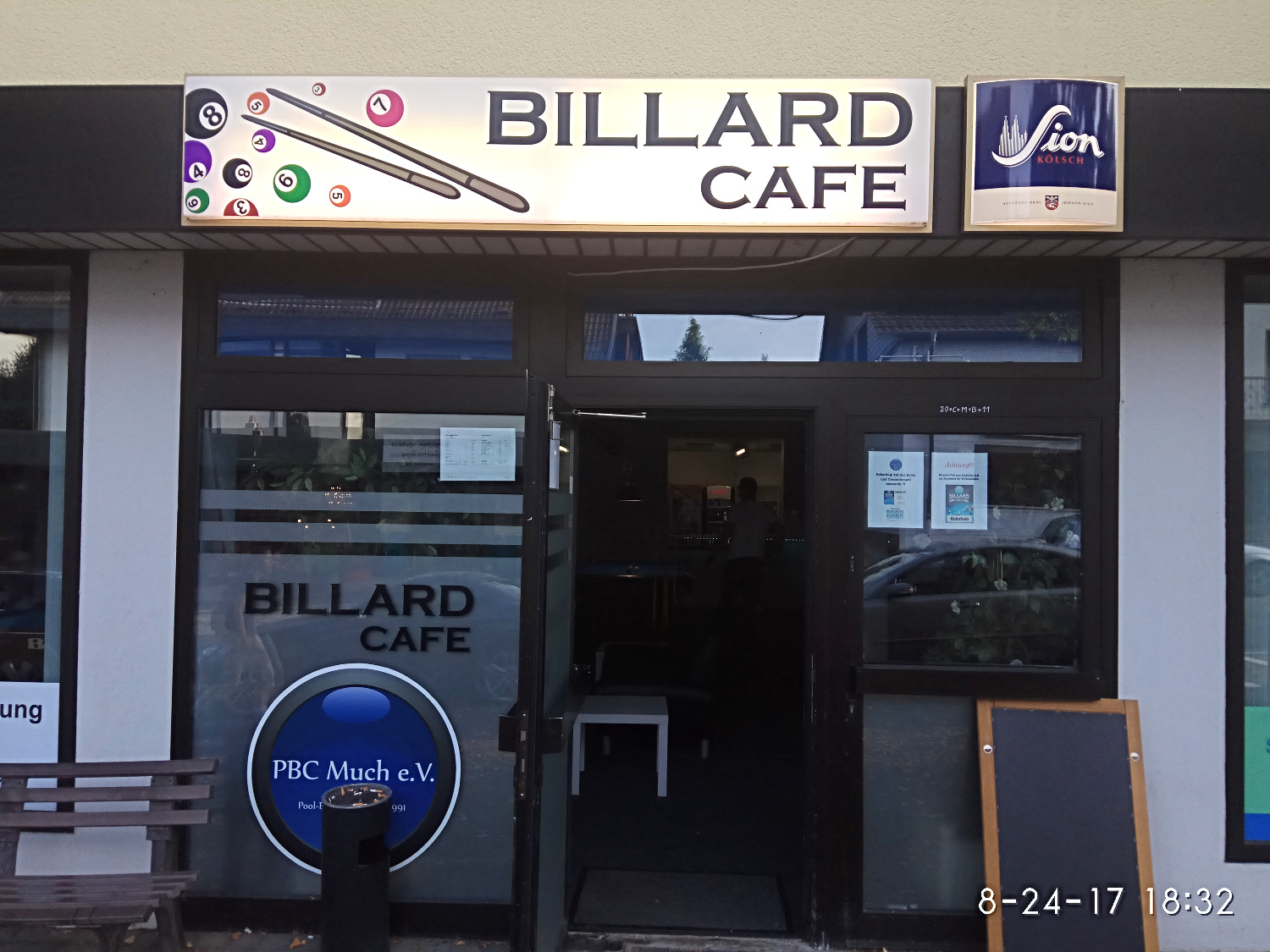 Unser Billard Cafe in Much