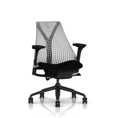 Herman Miller, Sayl Çalışma Koltuğu Siyah Oturma / Fog Sırt