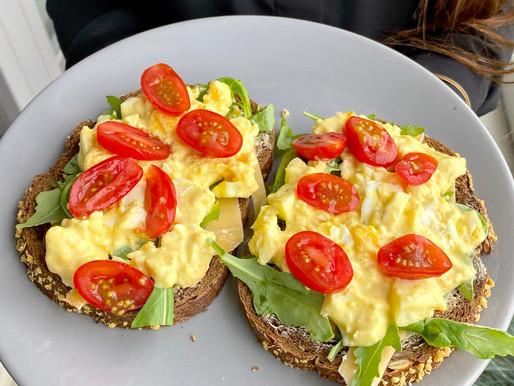 Recept: zelfgemaakte gezonde eiersalade!