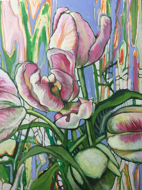 Les tulipes de mon printemps