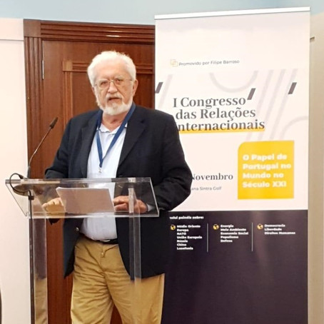 Miguel Anacoreta Correia deu voz à Kanimambo no I Congresso de Relações Internacionais de Sintra