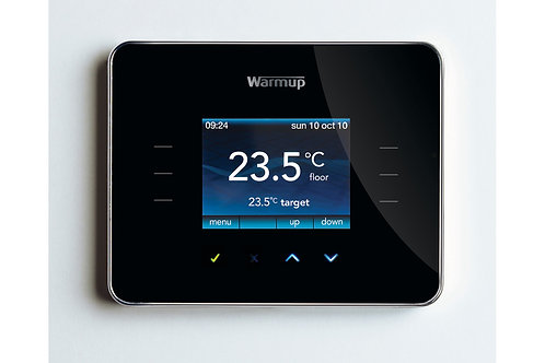 WARMUP 3IE PROGRAMMABLE THERMOSTAT - BLACK