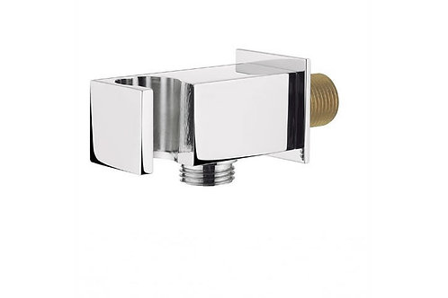 SQUARE HANDSET WALL BRACKET WITH WALL OUTLET