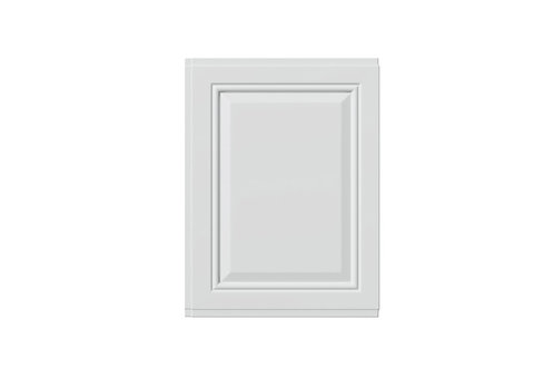 WHITE TUDOR 700MM END PANEL