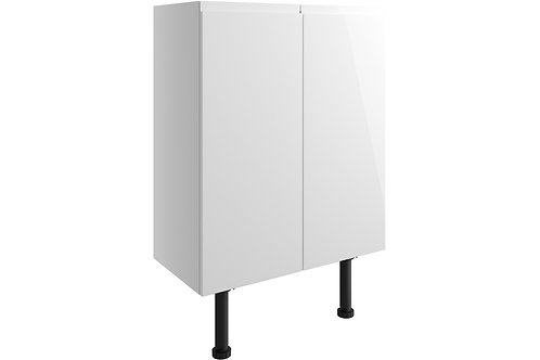 VALESSO 600MM BASE/WALL UNIT 2 DR IH - WHITE