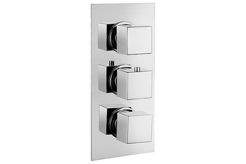 KUBA THERMOSTATIC TRIPLE SHOWER VALVE - TWO OUTLET