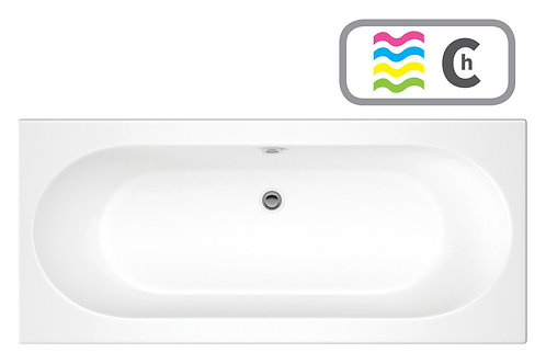 CASCADE D/END 1800X800 0TH BATH W/CHROMA