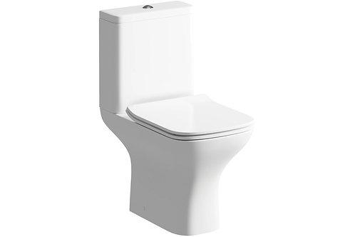 CEDARWOOD C/C WC & SOFT CLOSE SEAT