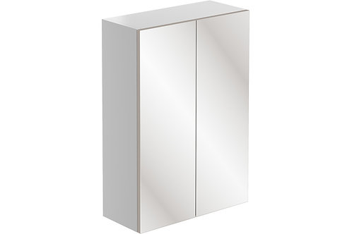 VALESSO 500 2DR MIRROR WALL UNIT WHI GLO