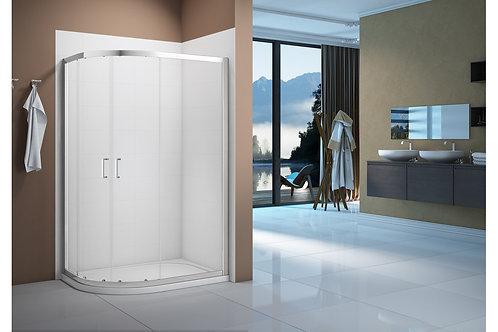 MERLYN VIVID BOOST 900X800MM 2 DOOR OFFSET QUADRANT