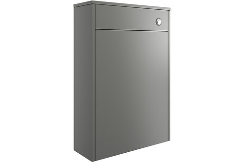 PERLA 600MM FLOOR STANDING WC UNIT - MATT GREY