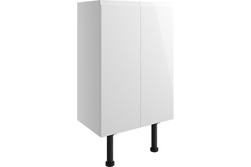 VALESSO 500MM 2 DR BASE/WALL UNIT IH-WHITE