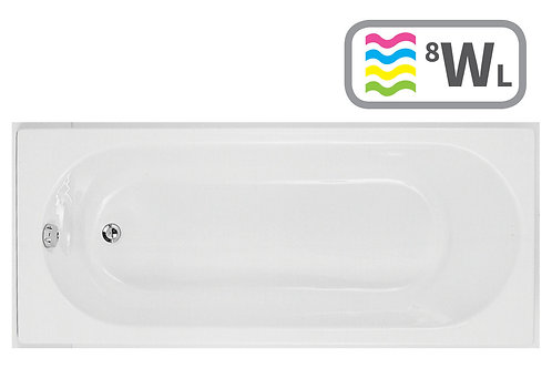 CASCADE S/END 1700X750 0TH BATH W/WP&LED