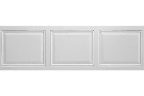 WHITE TUDOR 1700MM FRONT PANEL